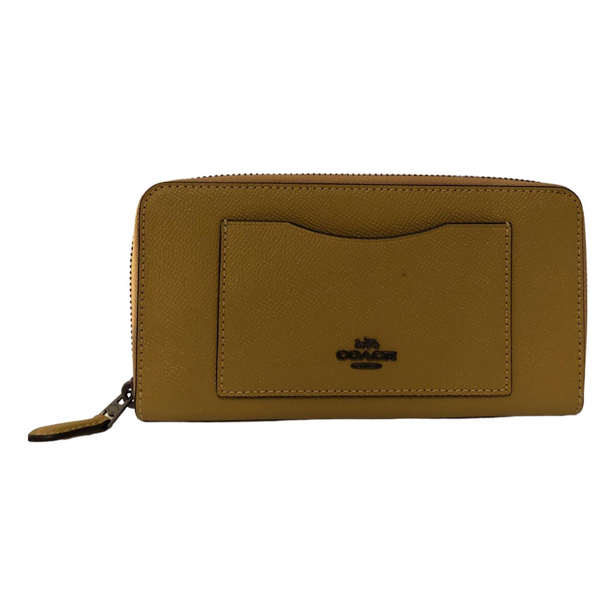 Coach N Leather wallet for Women N