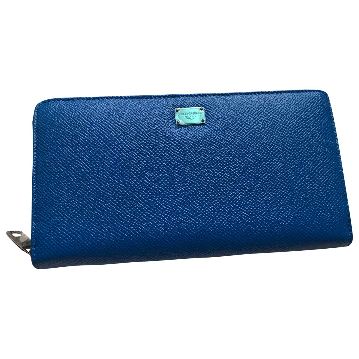 Dolce & Gabbana \N Blue Leather wallet for Women \N