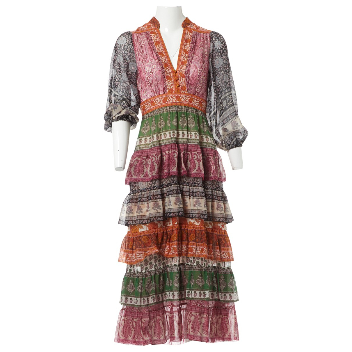 Zimmermann \N Multicolour Silk dress for Women 0 0-5