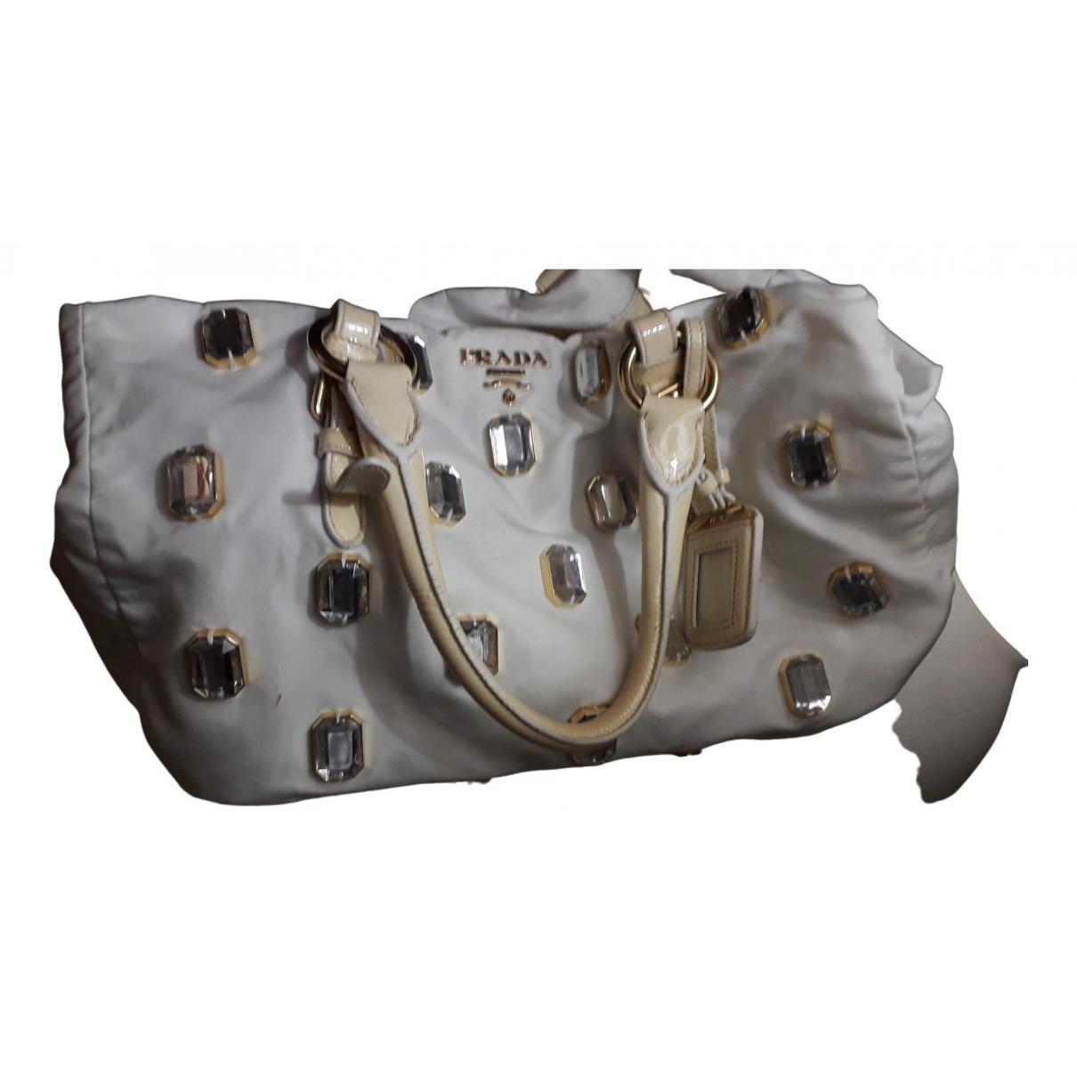 Prada City Fori Chain White handbag for Women \N