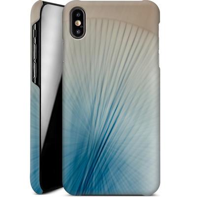 Apple iPhone XS Max Smartphone Huelle - Blue Lines 2 von Joy StClaire