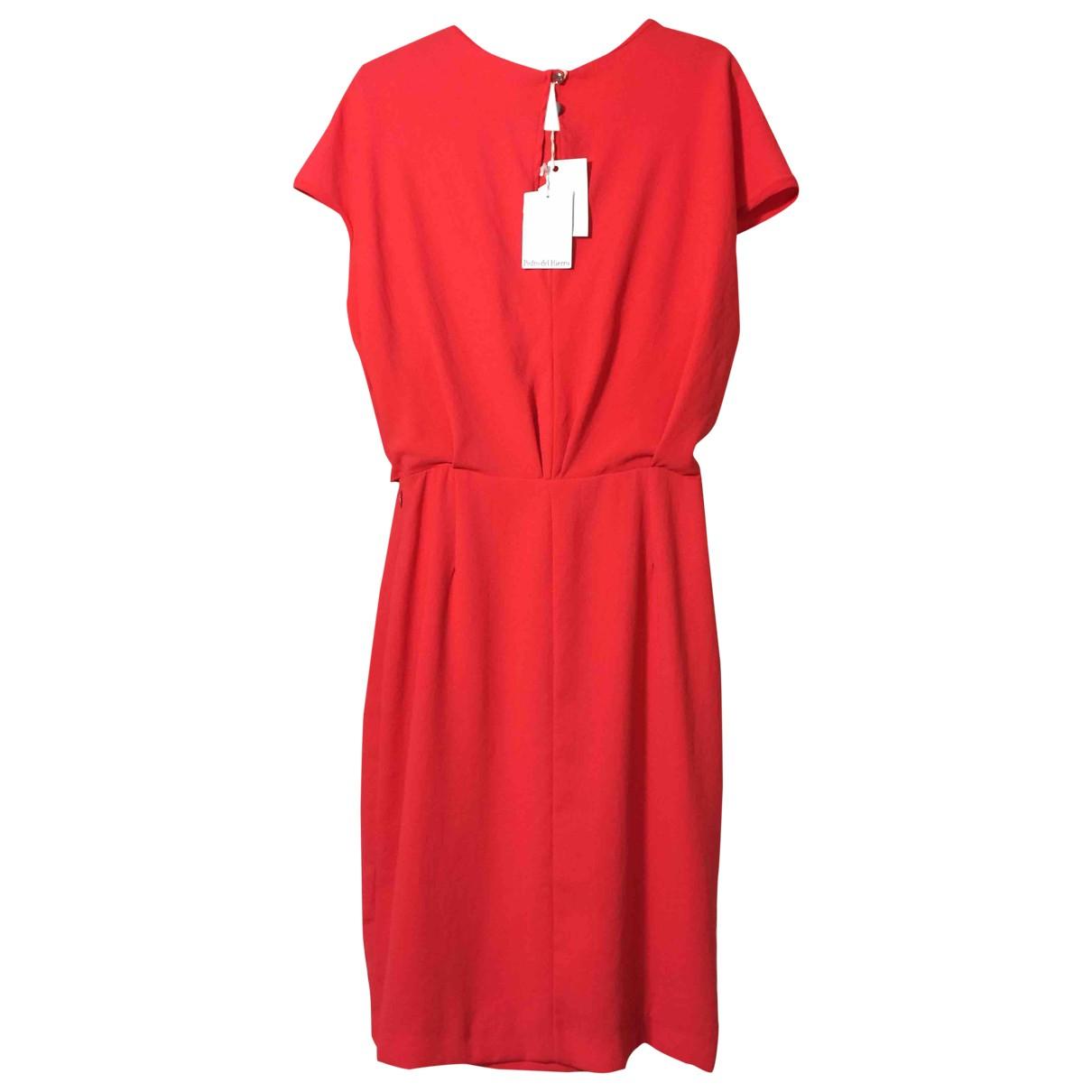 Pedro Del Hierro \N Red dress for Women 12 UK