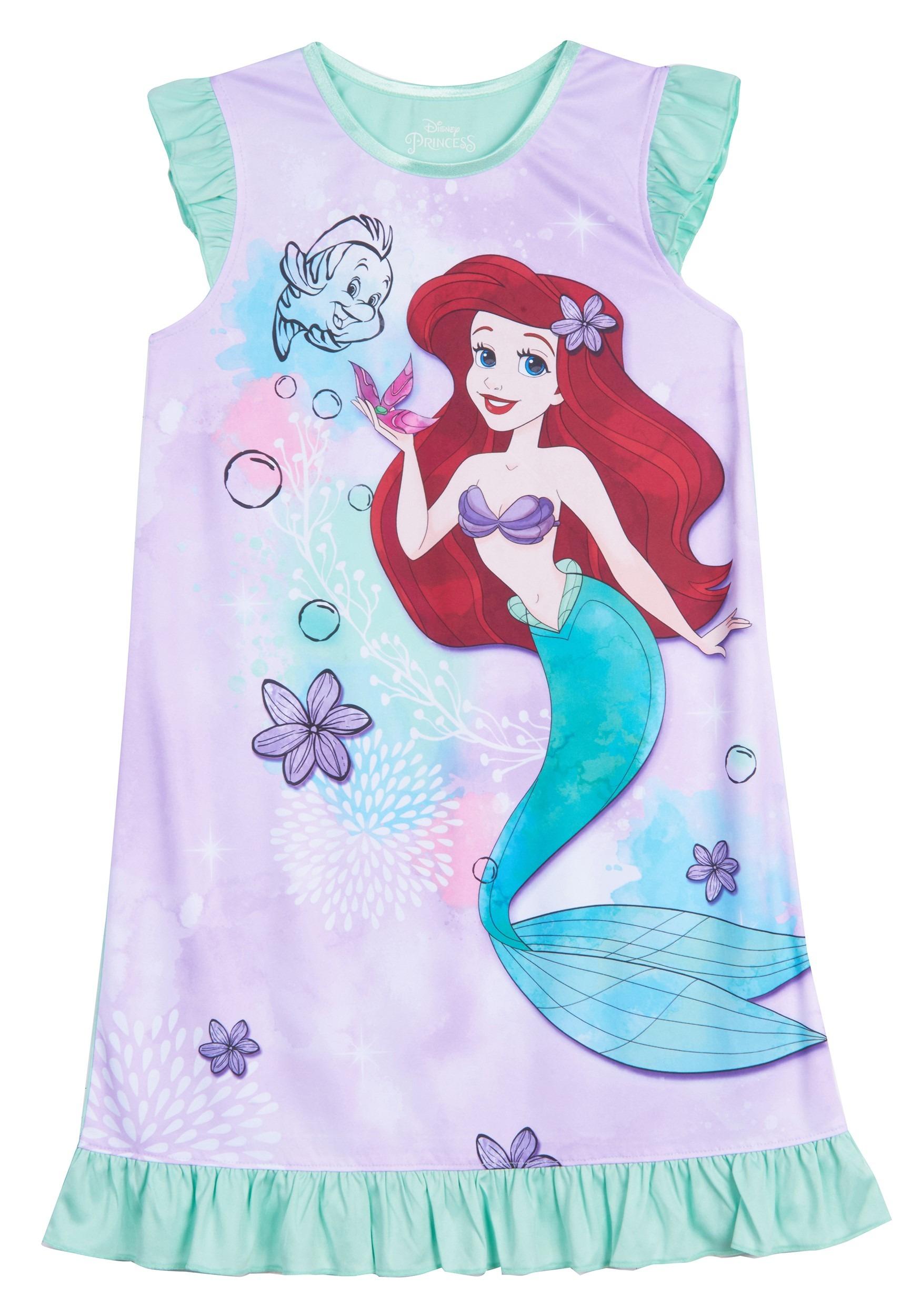 Ariel Dorm Nightgown Girls Disney