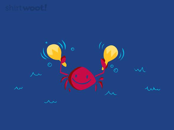 Carefree Crab T Shirt