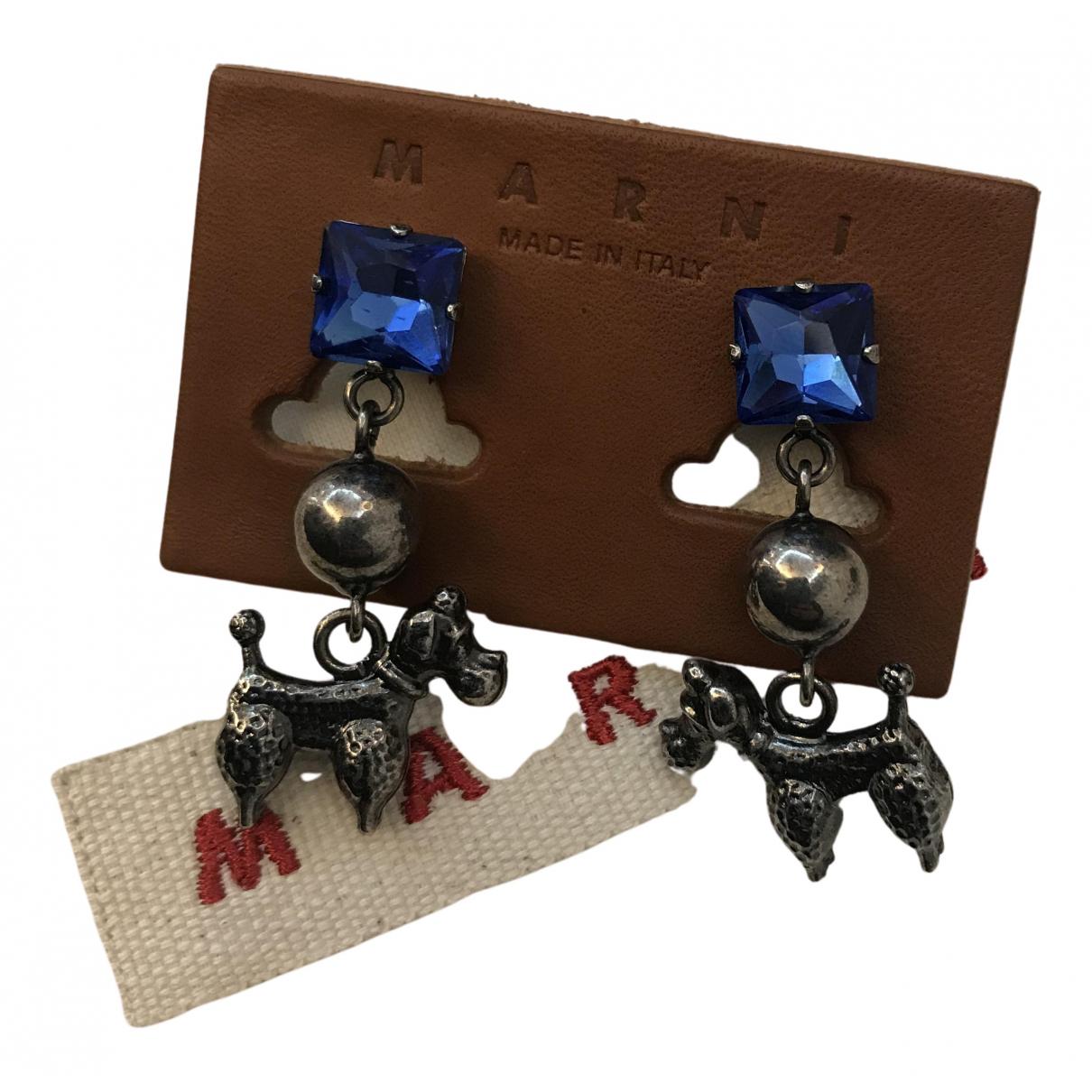Marni - Boucles doreilles   pour femme en metal - metallise