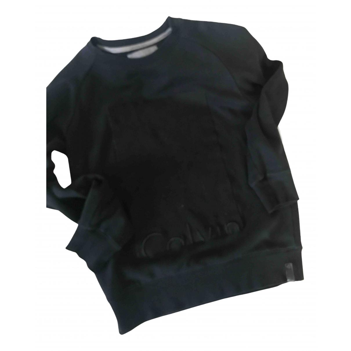 Calvin Klein \N Black Cotton Knitwear & Sweatshirts for Men S International