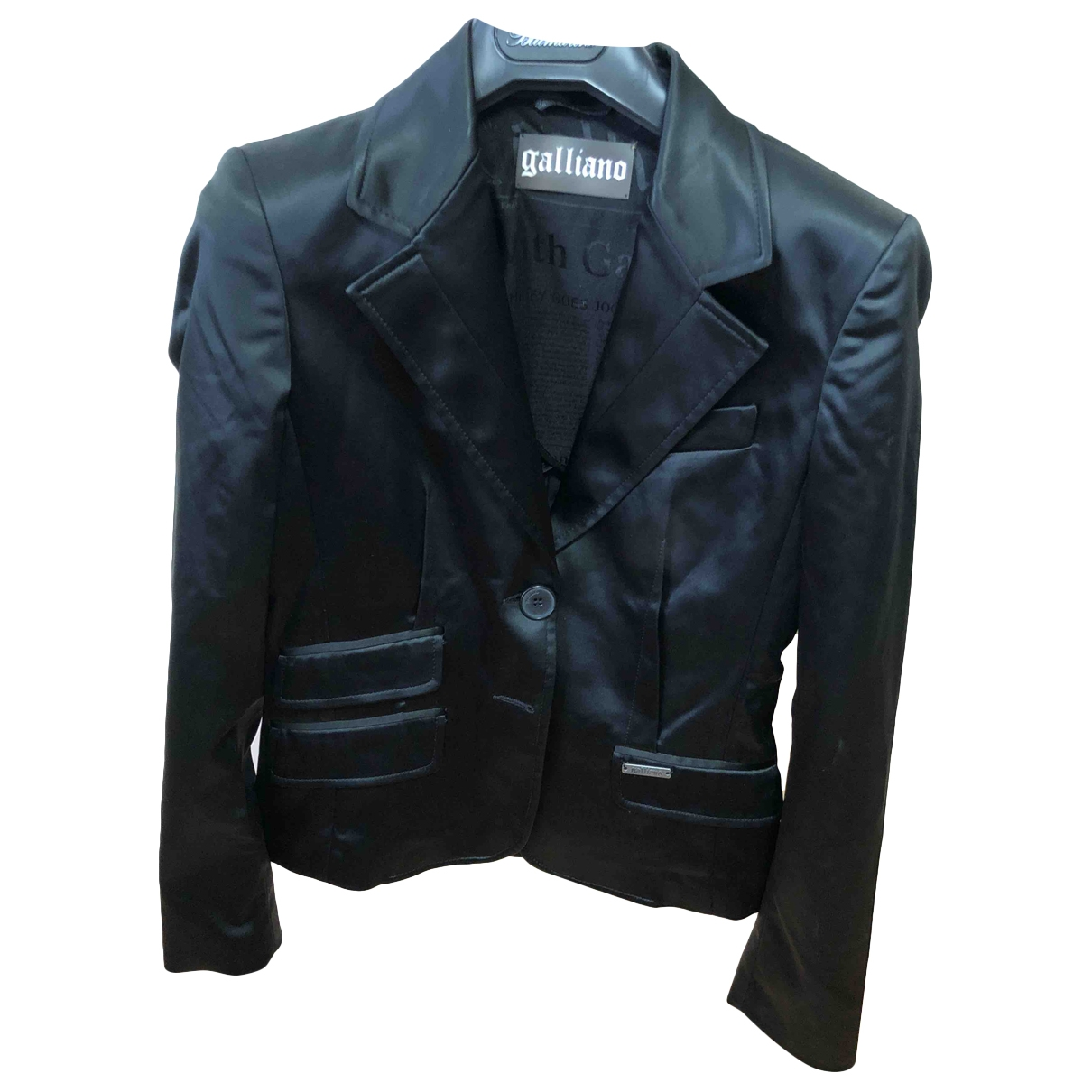 Galliano \N Black jacket for Women 40 IT
