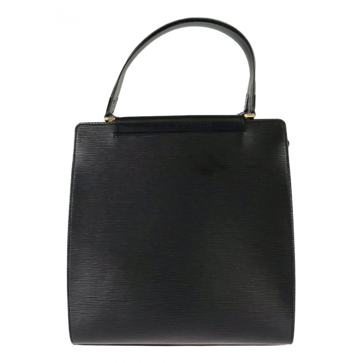 Louis Vuitton Figheri Black Leather handbag for Women N