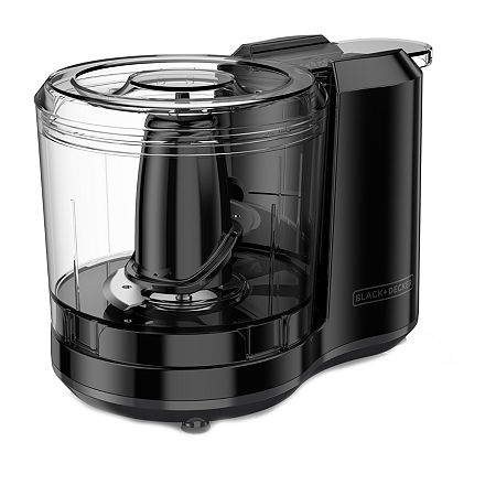 Black+Decker 1 1/2 Cups Food Processor, One Size , Black