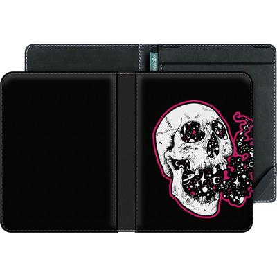 tolino vision 4 HD eBook Reader Huelle - Space Skull Black von Kreatyves