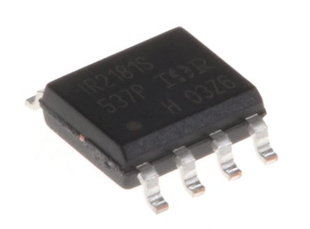 Infineon IR2181SPBF Dual High and Low Side MOSFET Power Driver, 2.3A 8-Pin, SOIC