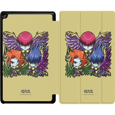 Amazon Fire HD 8 (2017) Tablet Smart Case - Harpie Lady Sisters SD von Yu-Gi-Oh!