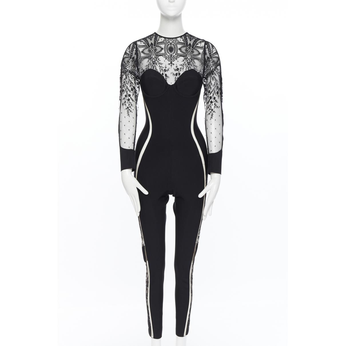 La Perla \N Jumpsuit in  Schwarz Polyester