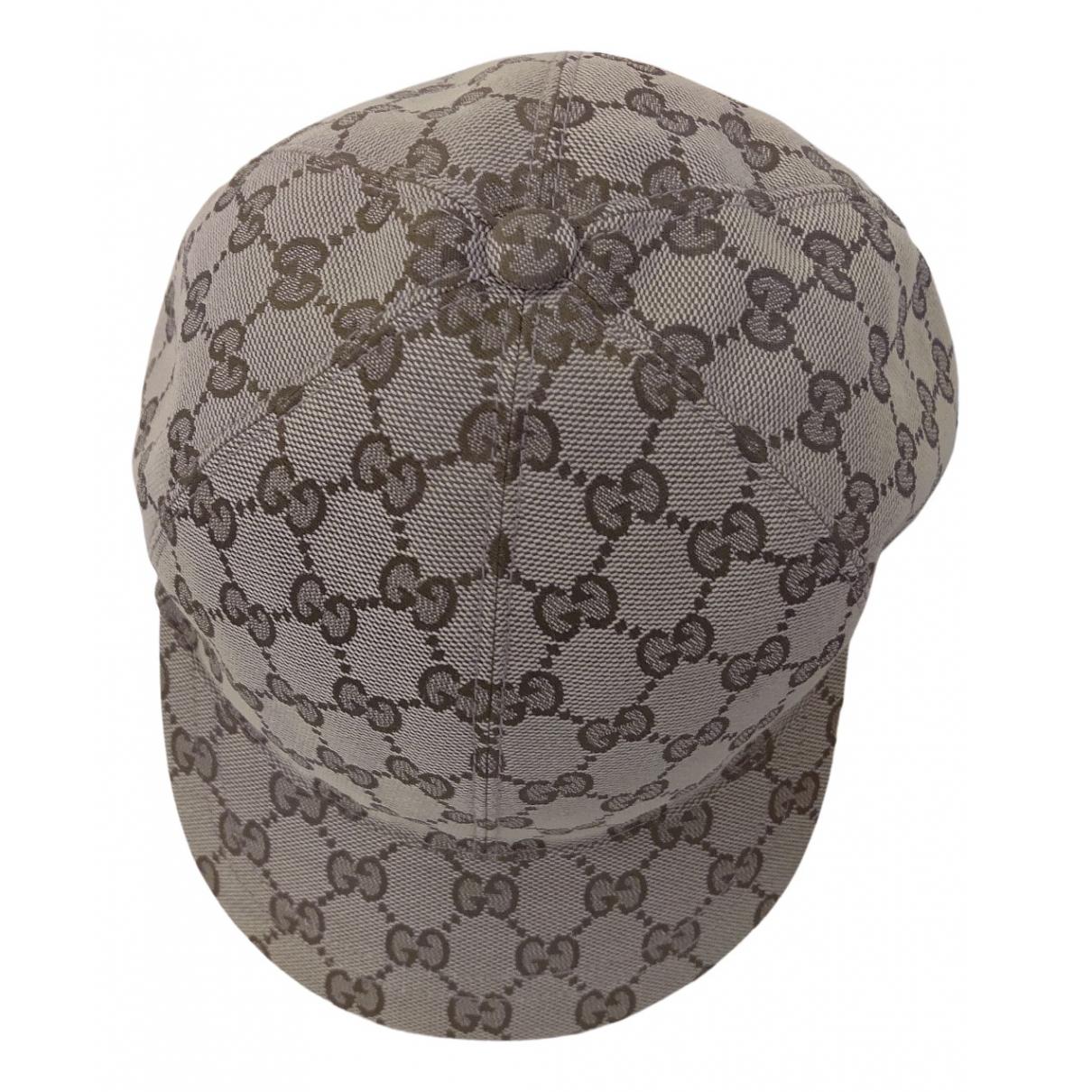 Gucci - Chapeau   pour femme - beige