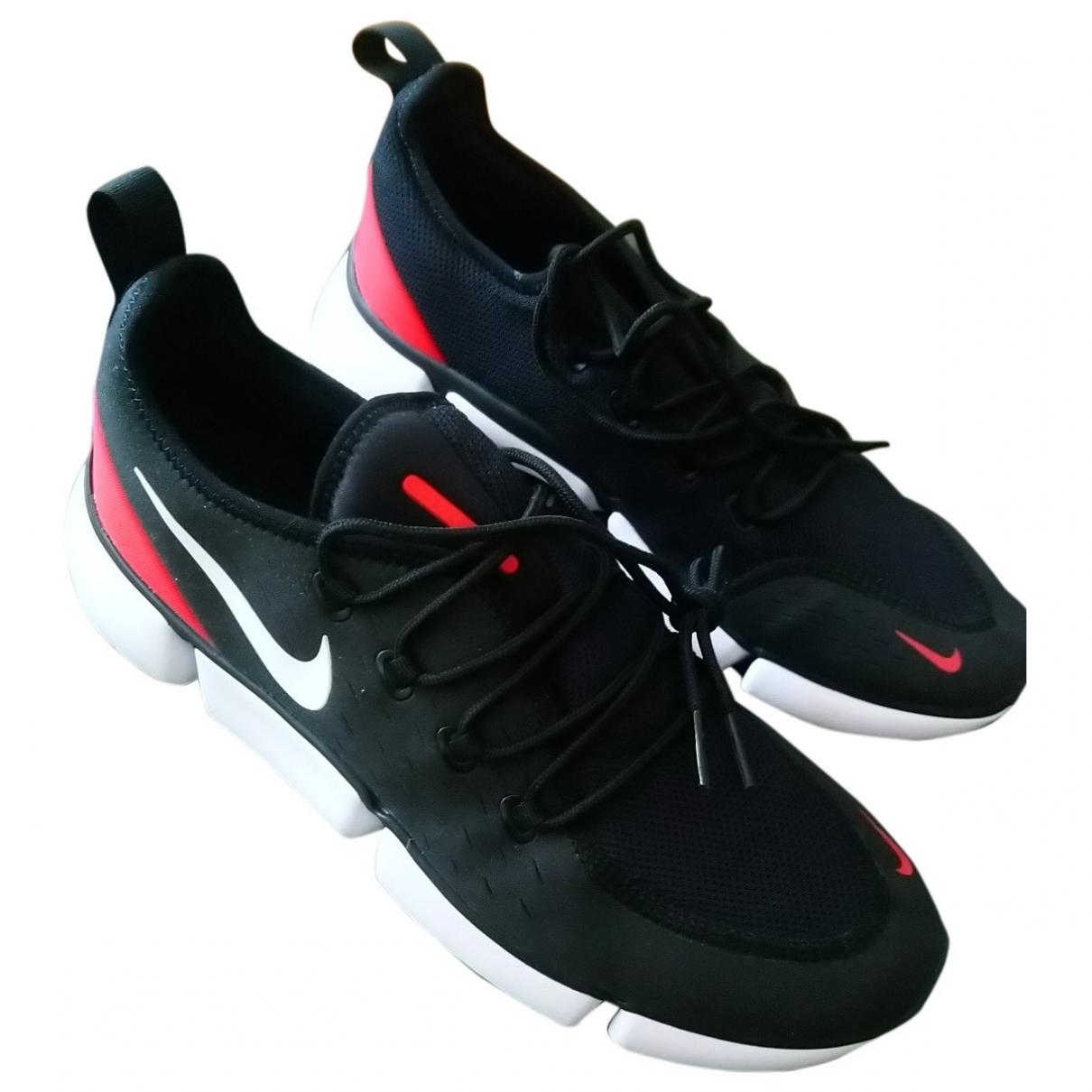 Nike \N Black Trainers for Men 42 EU