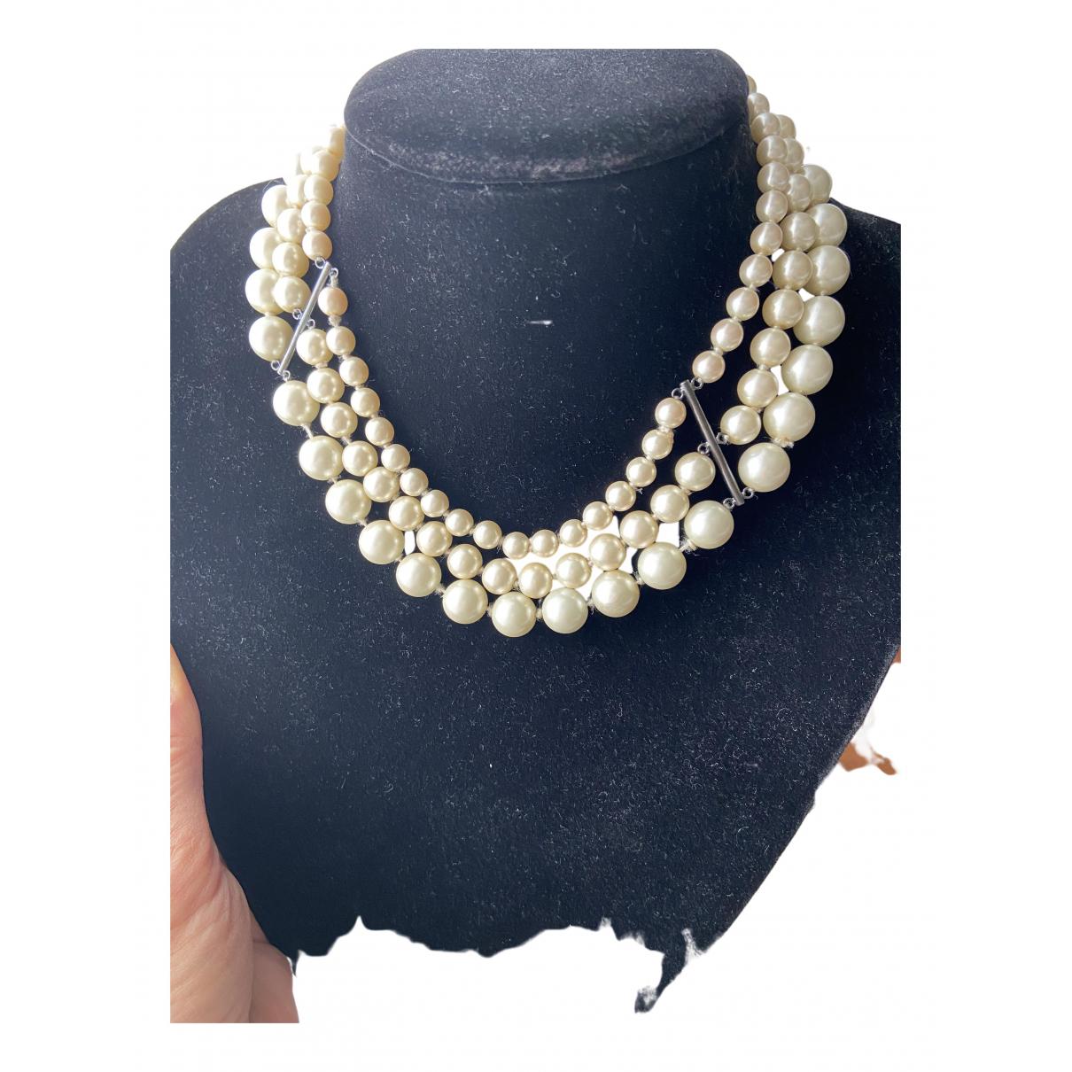 Hoss Intropia - Collier   pour femme en perles - dore