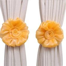 1 Stueck Vorhang Band mit Blumen Dekor