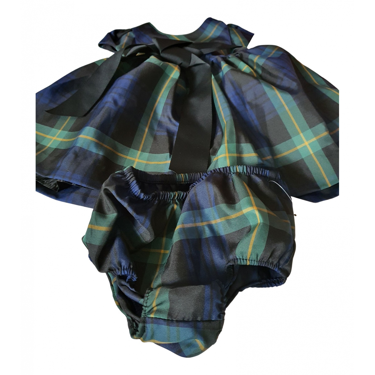 Ralph Lauren \N Kleid in  Gruen Polyester