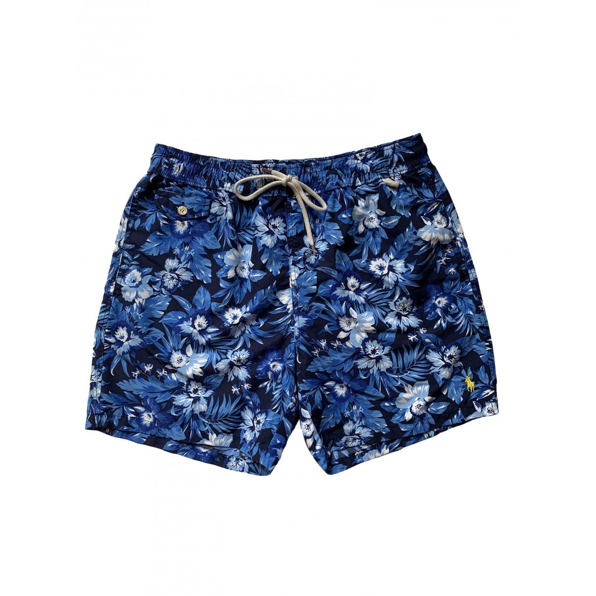 Polo Ralph Lauren \N Badeanzug in  Blau Synthetik