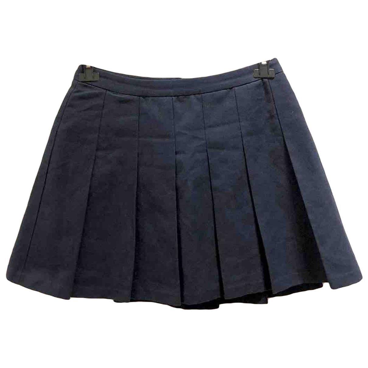 Sandro - Jupe   pour femme en coton - gris