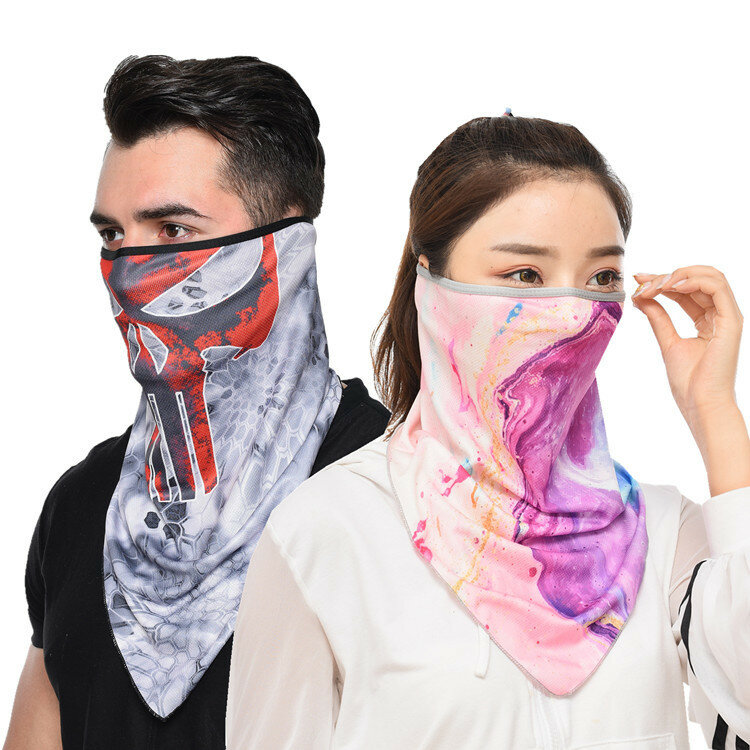 Quick-drying Breathable Riding Mask Fishing Windproof Sunscreen Mask