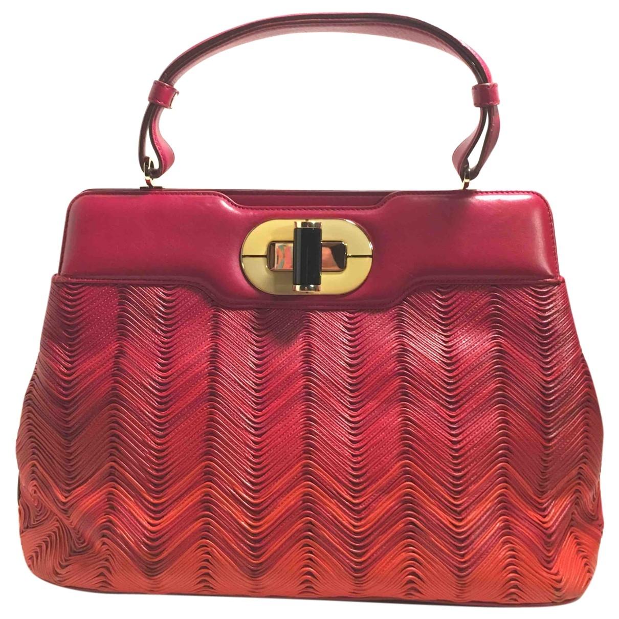 Bvlgari Rossellini Red Leather handbag for Women \N
