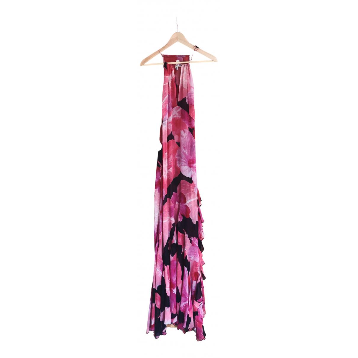 Blumarine \N Pink Silk dress for Women 44 IT