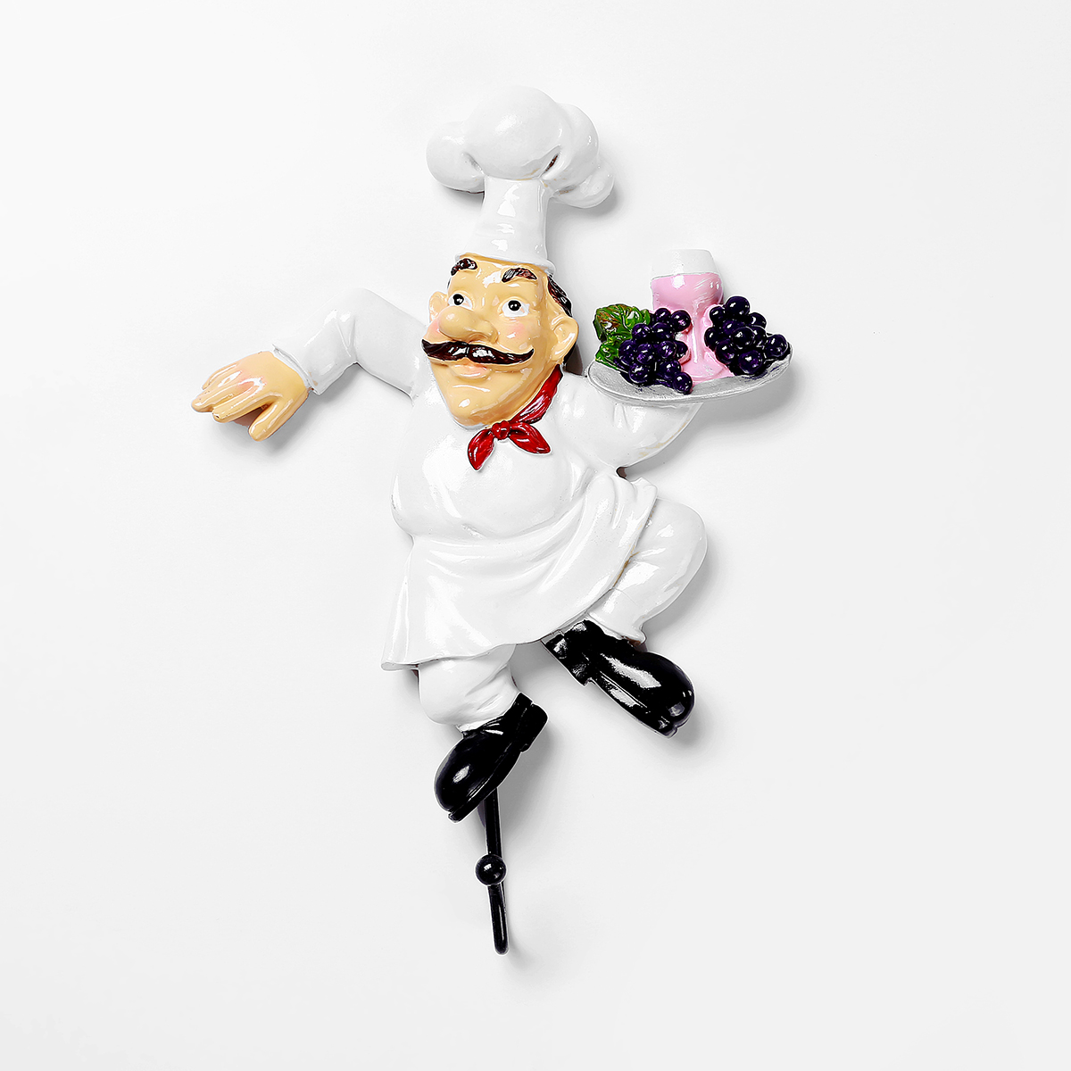 Retro Creative Resin Cooking Chef Wall Hook