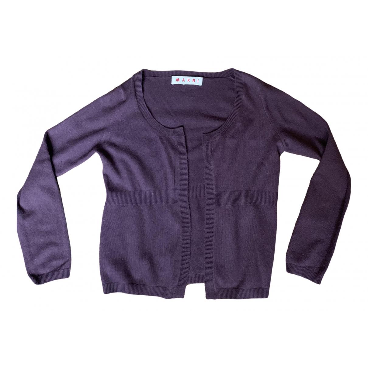 Marni \N Pullover in  Lila Kaschmir