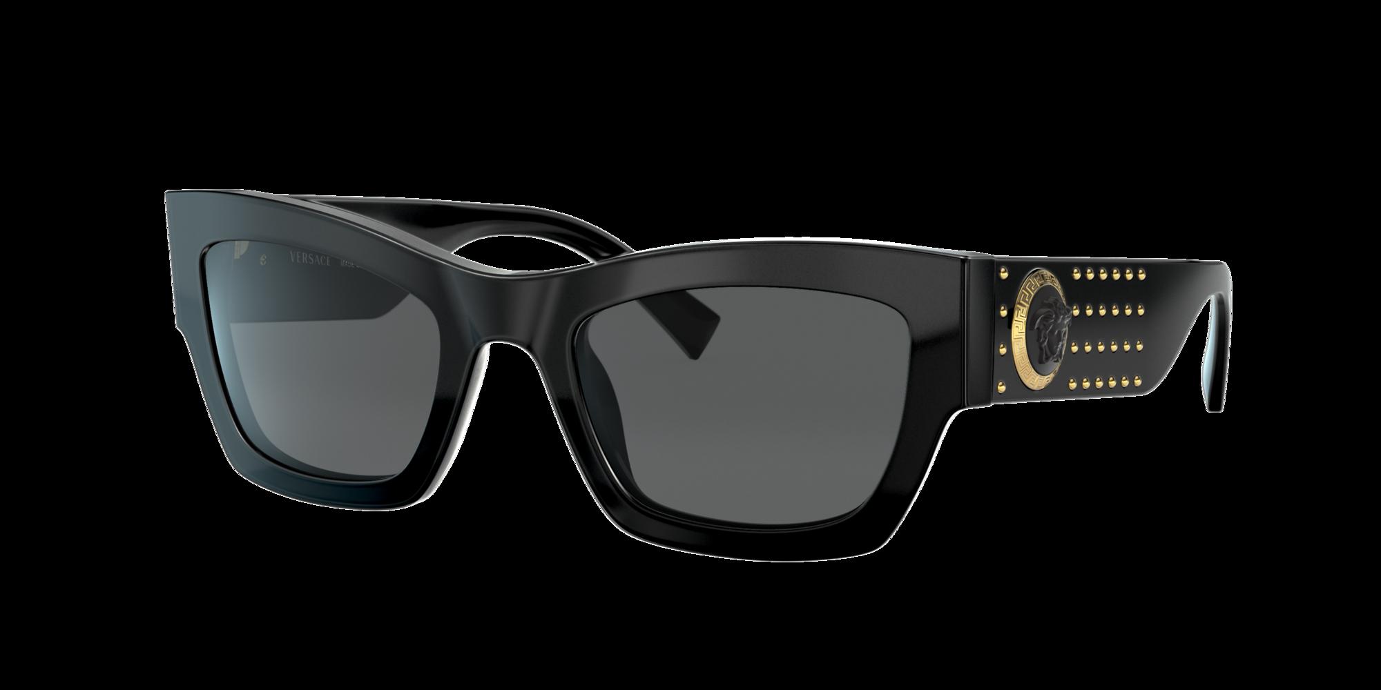 Versace Unisex  VE4358 -  Frame color: Negro, Lens color: Gris-Negro, Size 52-22/140