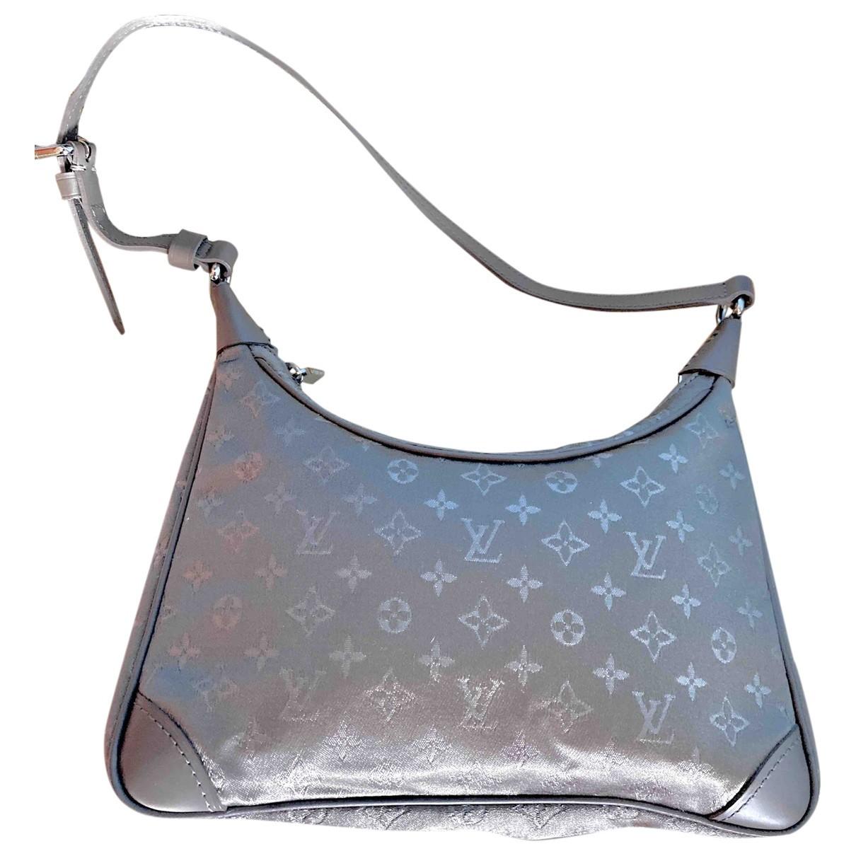 Louis Vuitton - Sac a main Boulogne pour femme en toile - gris