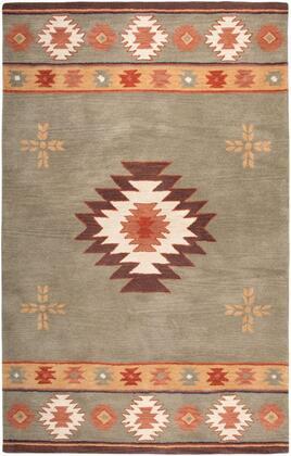 SOWSU200800300810 Southwest SU2008-8' x 10' Hand-Tufted 100% Wool Rug in Sage Green  Rectangle