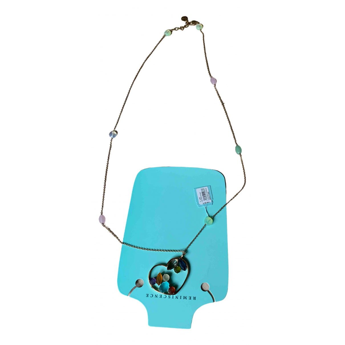 Reminiscence N Multicolour Metal necklace for Women N