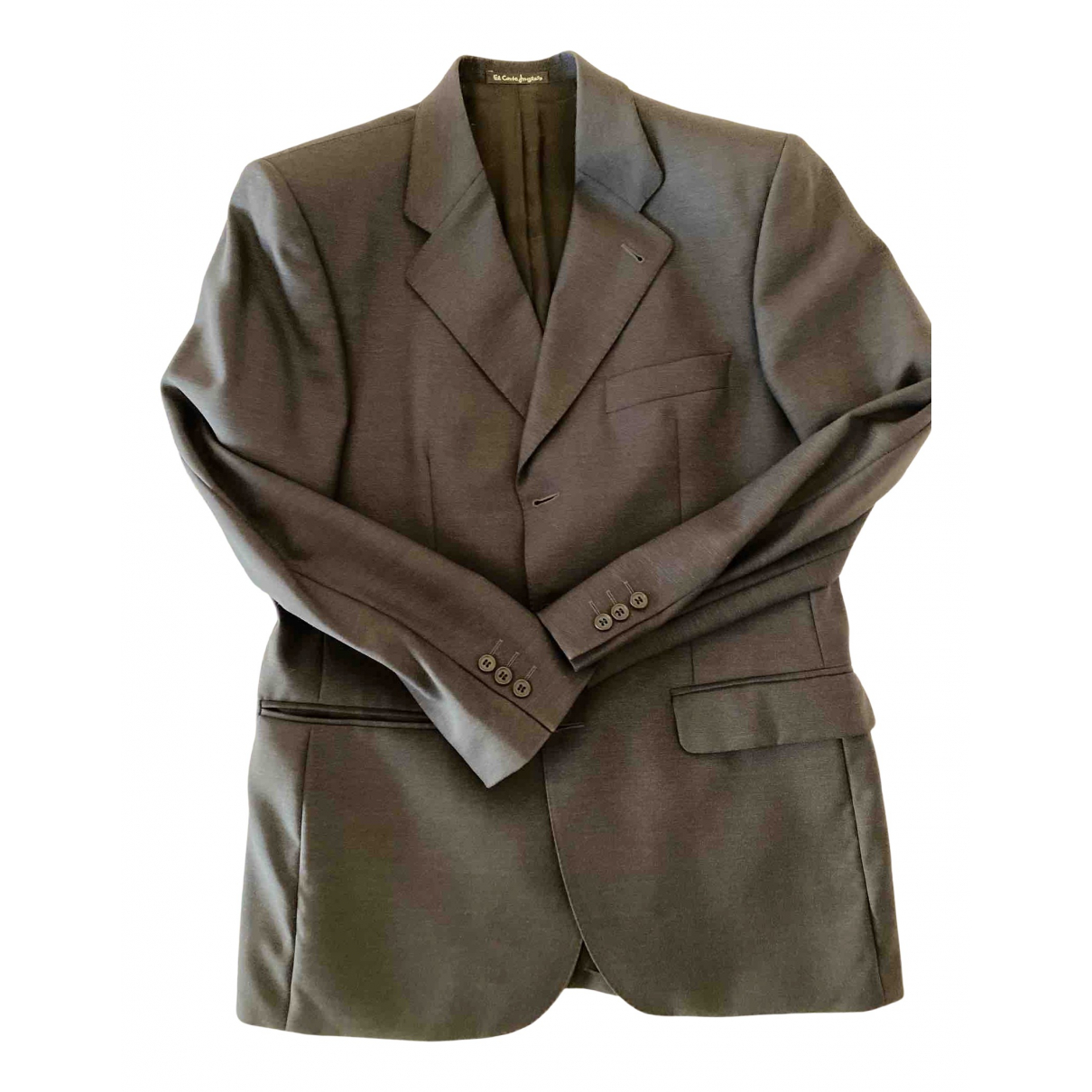 Emilio Pucci \N Grey Wool Suits for Men 50 IT