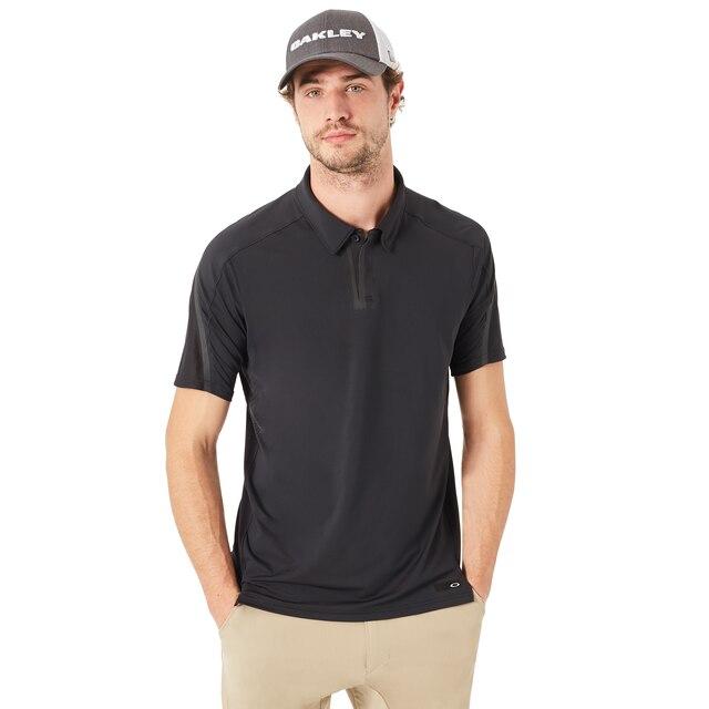 Oakley Men's Blackout Velocity Golf Polo Size: Xxl