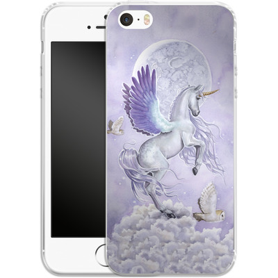 Apple iPhone 5 Silikon Handyhuelle - Moonshine von Selina Fenech