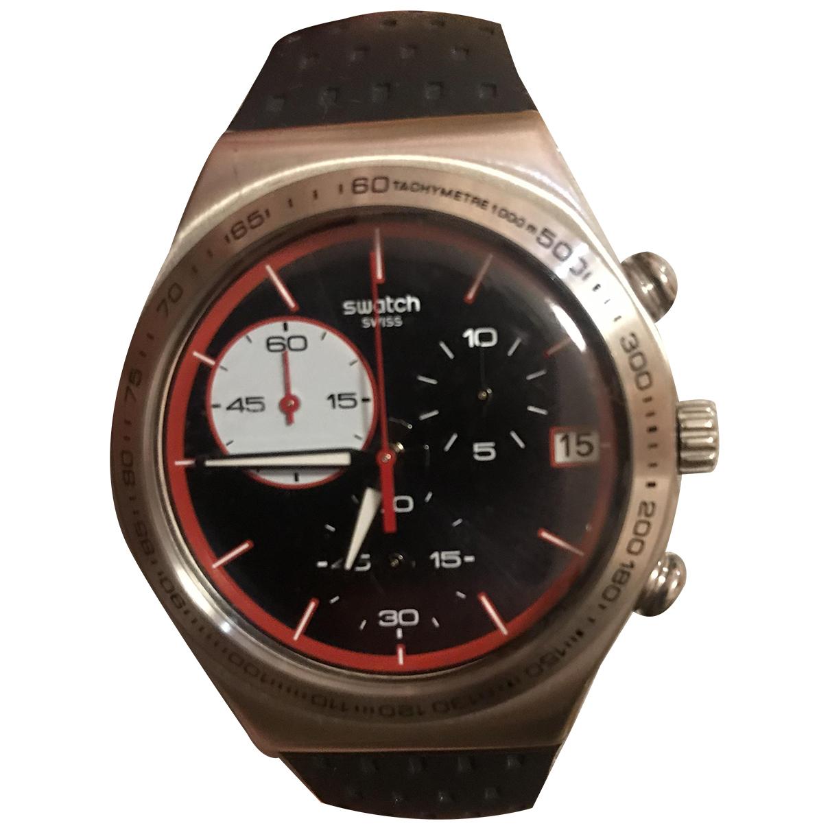 Swatch N Black Steel watch for Women N