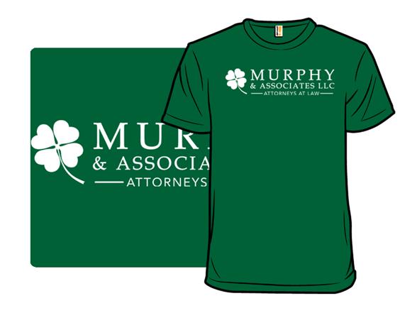 Murphy's Law T Shirt