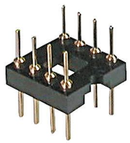 ASSMANN WSW Straight Through Hole Mount 2.54mm Pitch IC Socket Adapter, 20 Pin Male DIP to 20 Pin Male DIP (5)