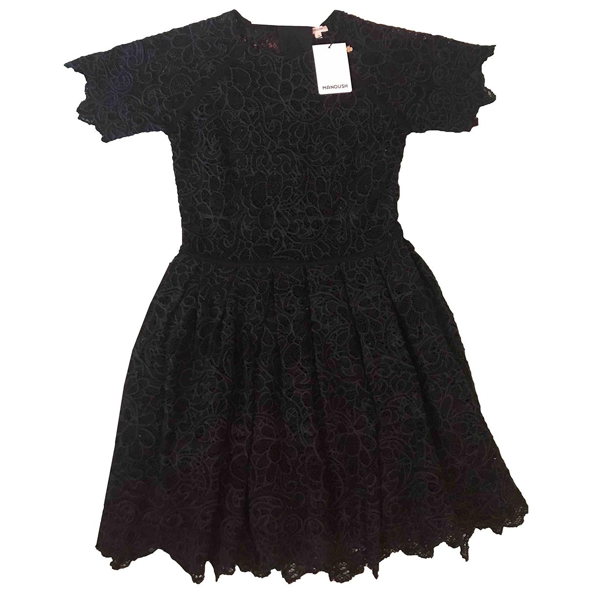 Manoush \N Navy Cotton dress for Women 36 FR