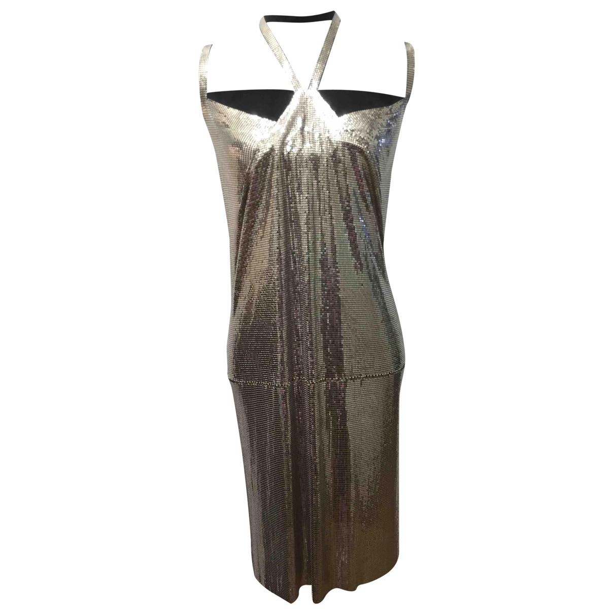 Plein Sud \N Kleid in  Silber Mit Pailletten