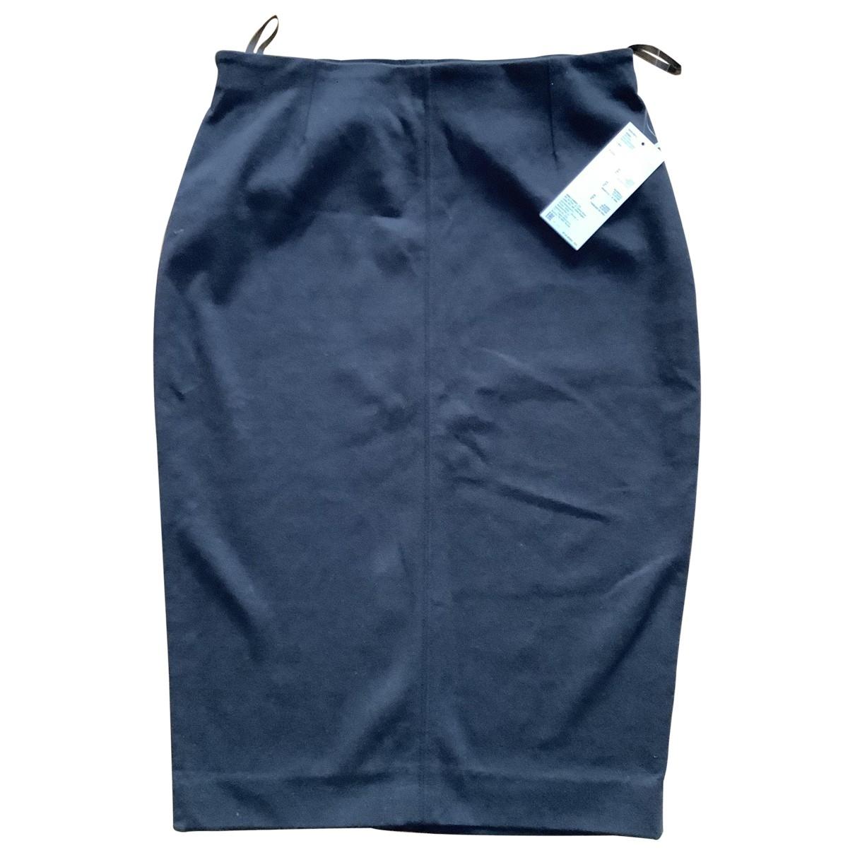 Uniqlo - Jupe   pour femme en coton - elasthane - noir