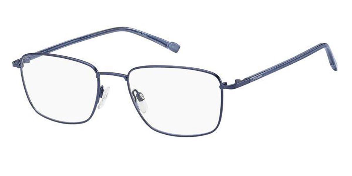 Pierre Cardin P.C. 6872 FLL Men's Glasses Blue Size 55 - Free Lenses - HSA/FSA Insurance - Blue Light Block Available