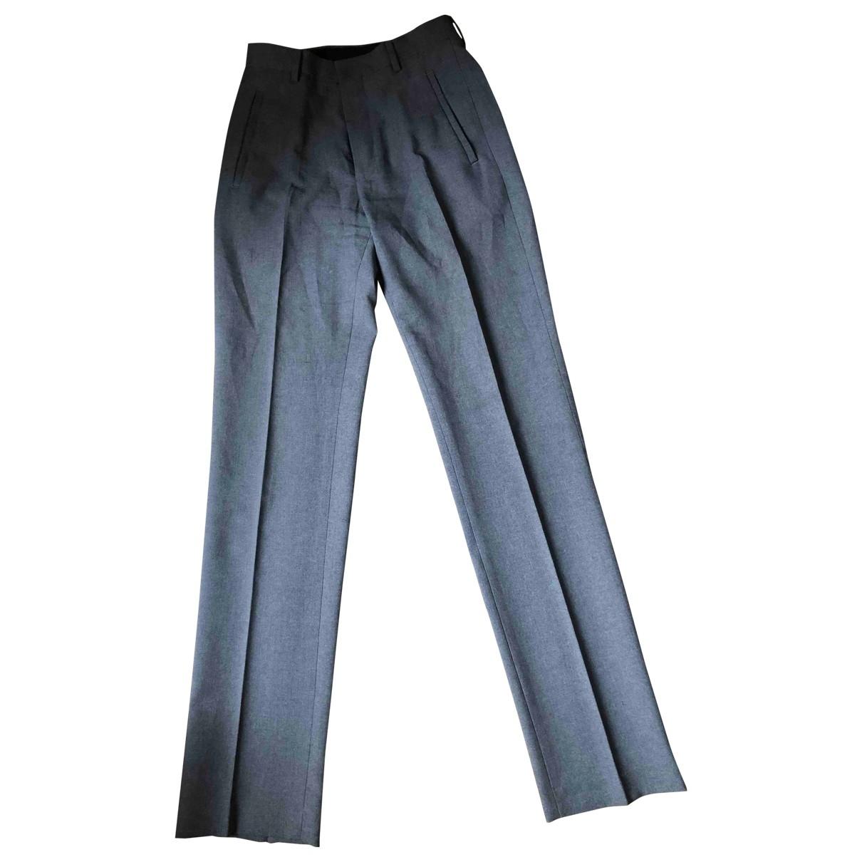 Dkny \N Grey Trousers for Women 38 FR