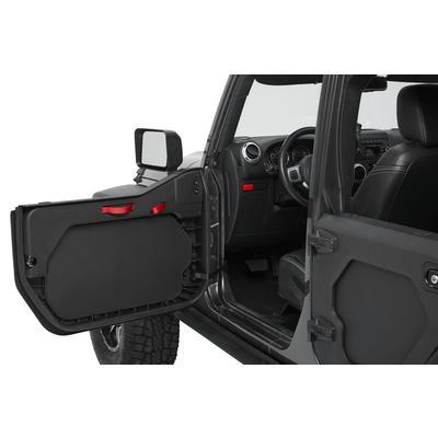 Bestop Lower Front Core Door Set (Black) - 51730-01