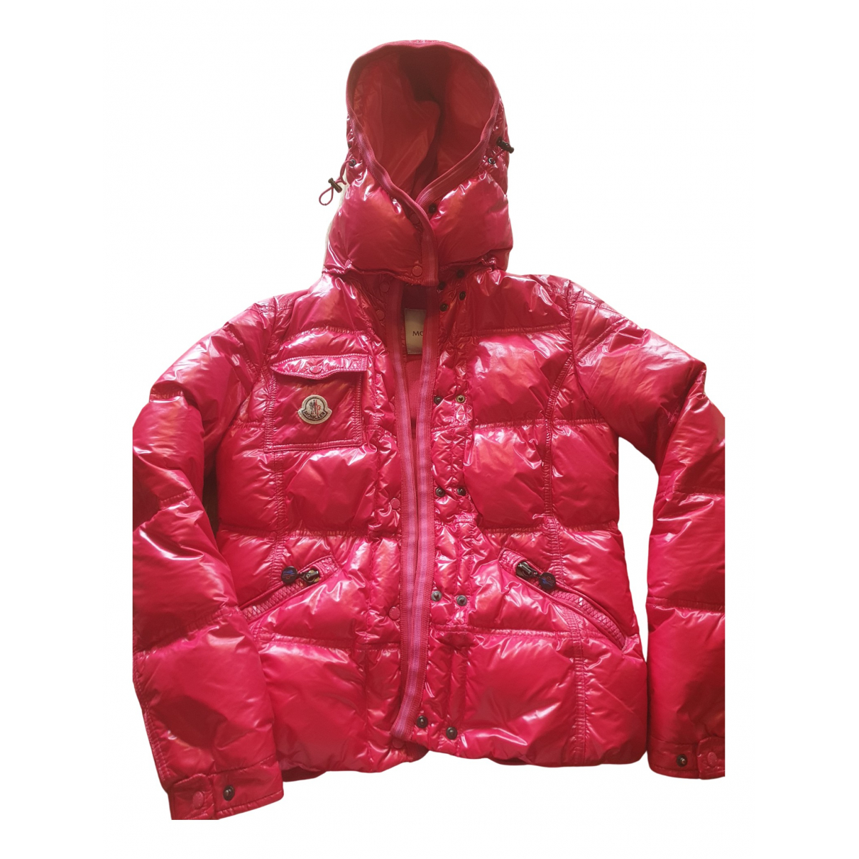 Moncler - Veste Hood pour femme - rouge