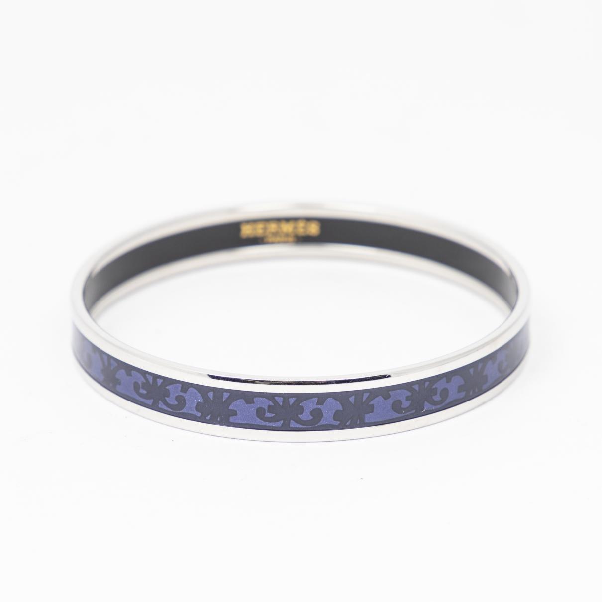 Hermes \N Armband in  Lila Metall