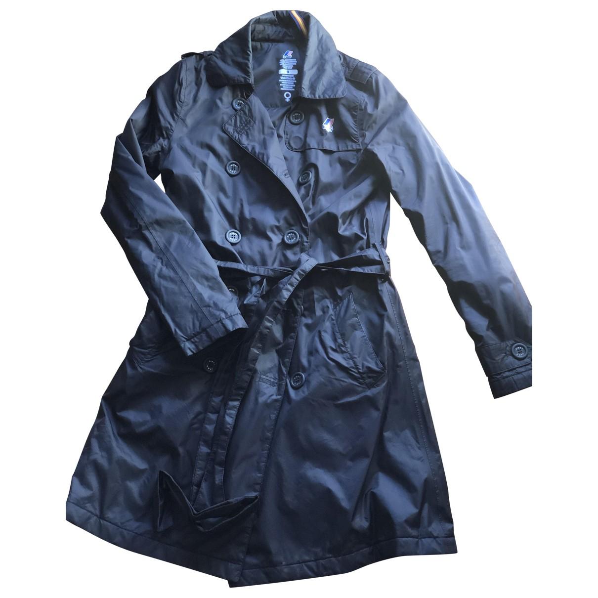 K-way - Manteau   pour femme - noir