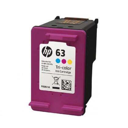 HP 63 F6U61AN Original Tri-Color Ink Cartridge