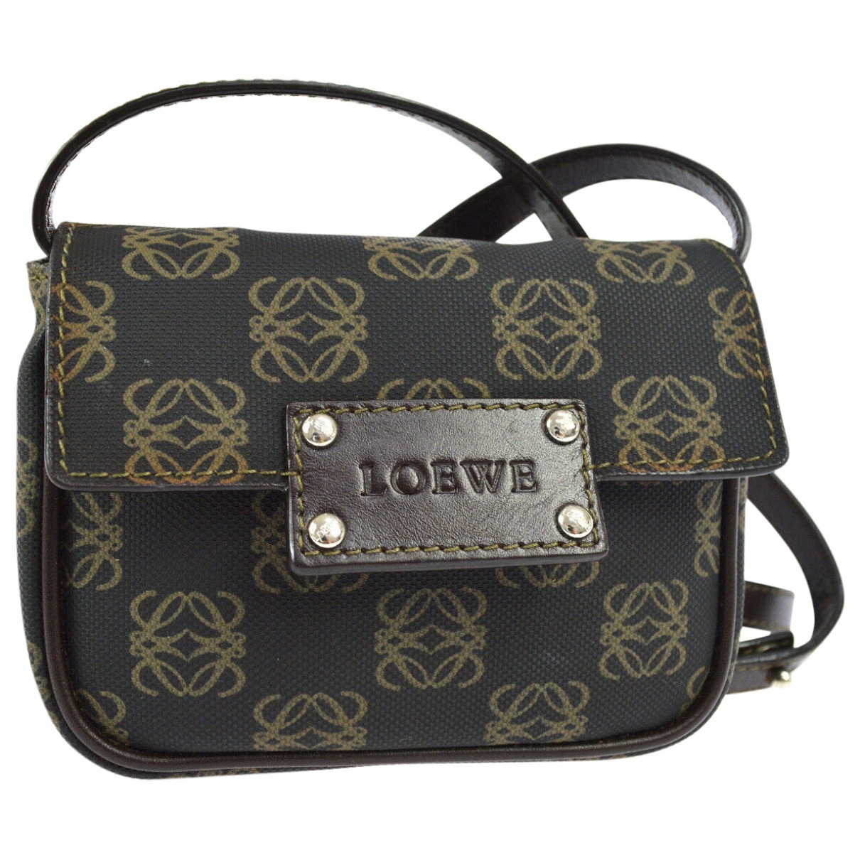 Loewe \N Brown Cloth handbag for Women \N